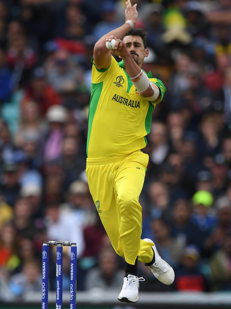 Starc is in no mood to take his foot off the gas.