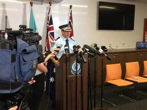 Media Conference on missing backpacker 1
