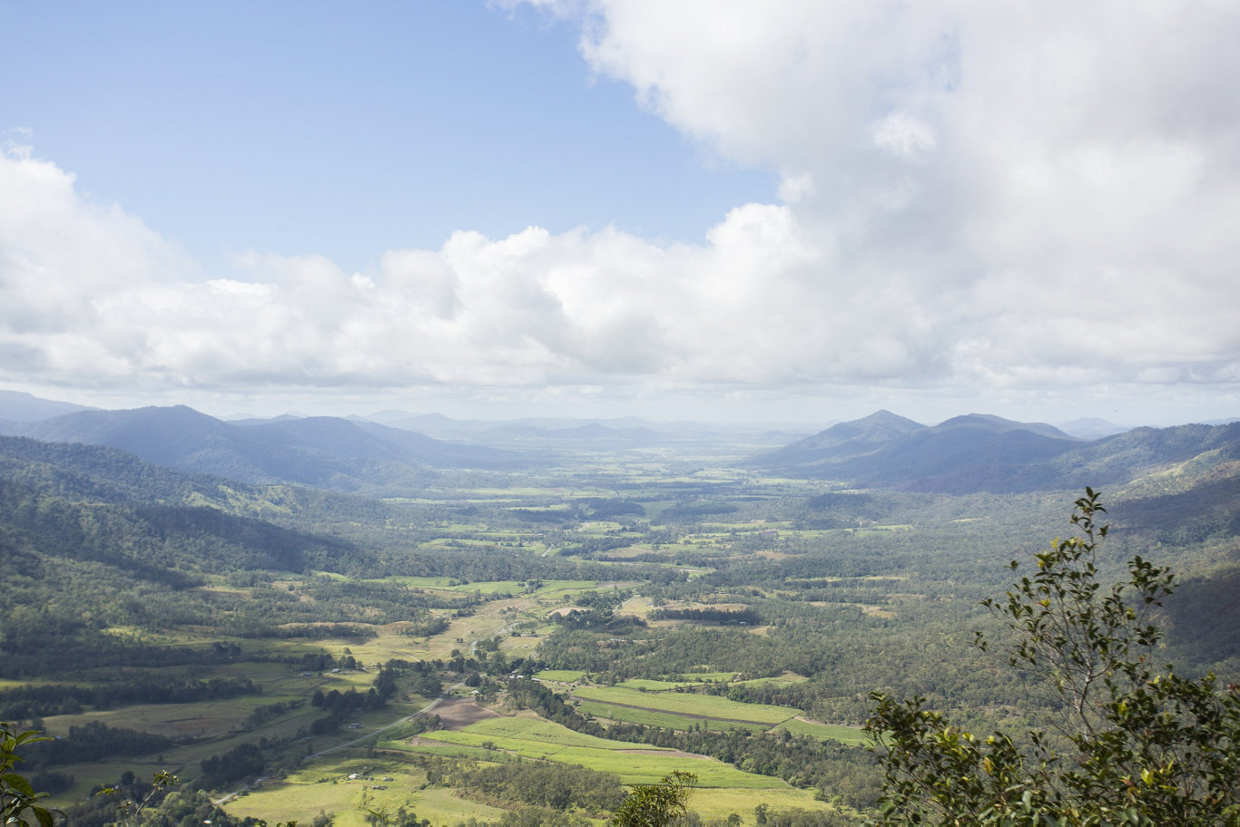 The Eungella National Park Sky Window is a popular tourist destination in the Mackay Region.
