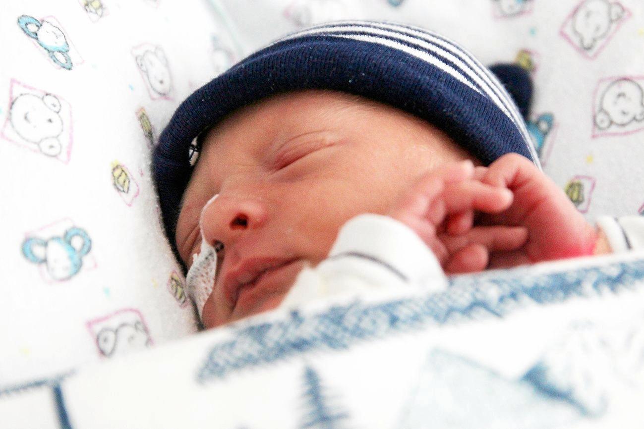 Baby Riley Osborne.
