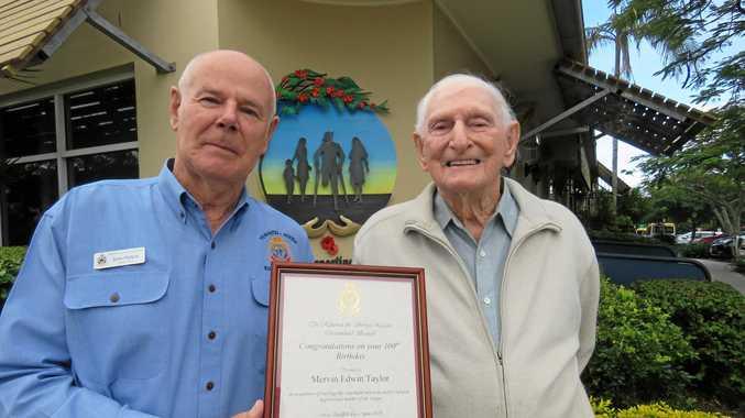 Veteran celebrates 100 years