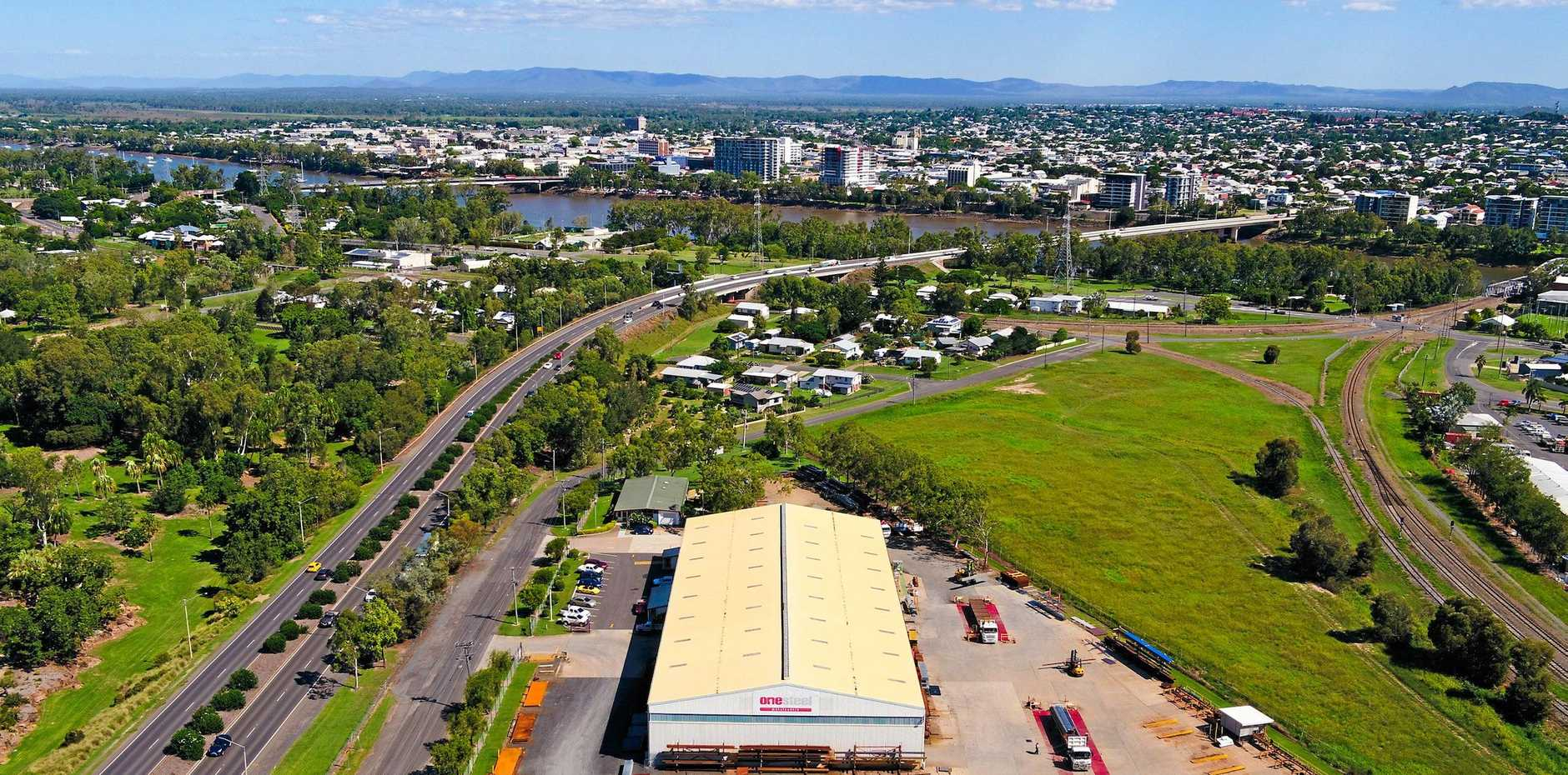 Rare' industrial site for sale, investors eye opportunities