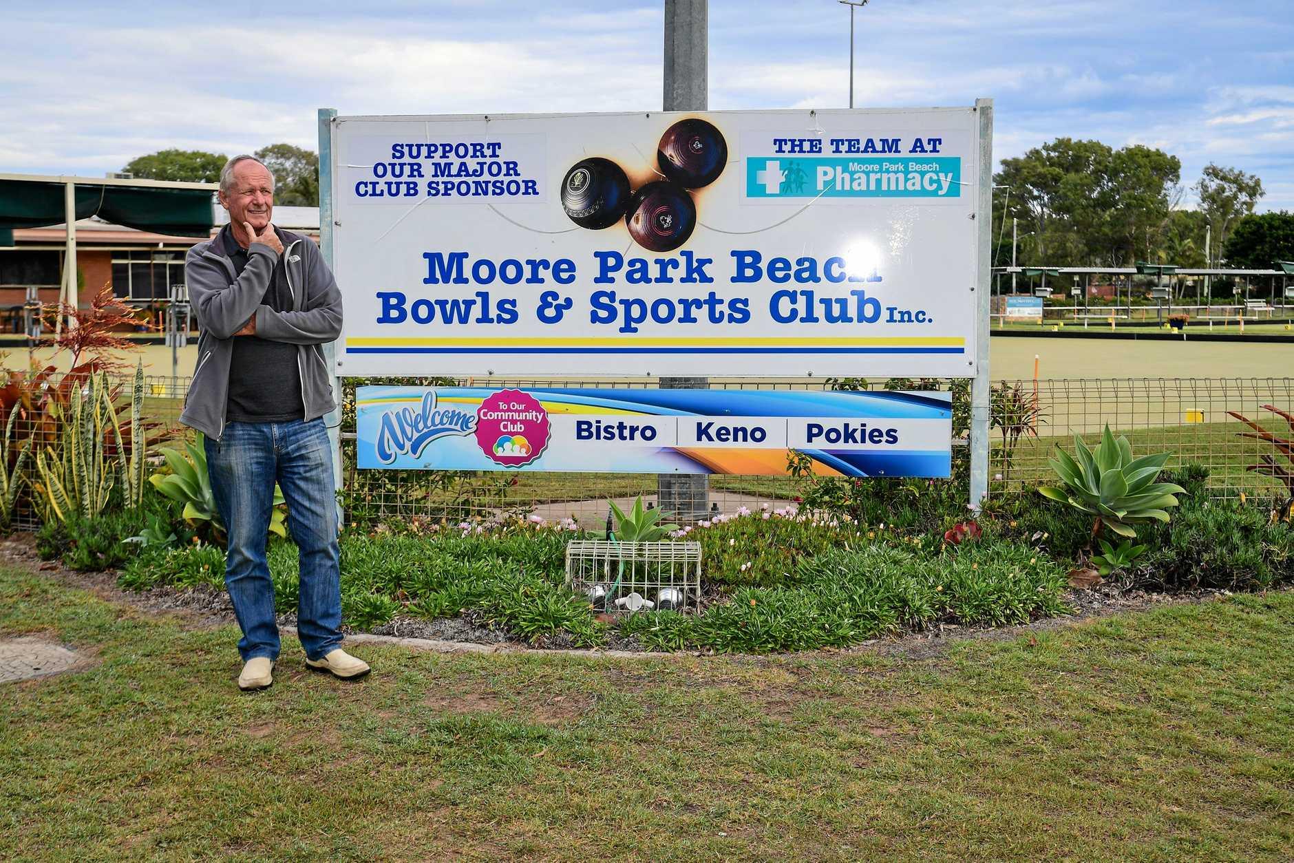 Grant Errington ponders the future of the Moore Park Beach Bowls Club.