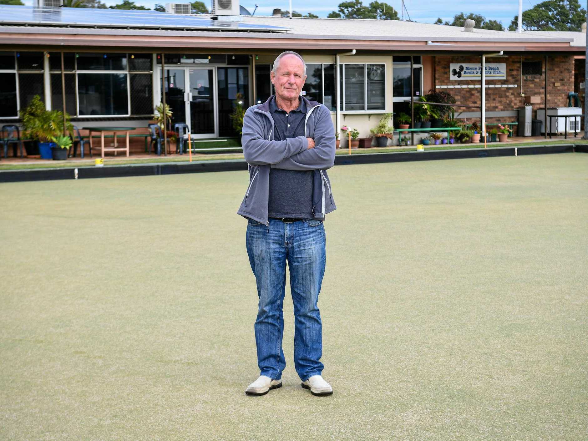 Grant Errington ponders the future of the Moore Park Beach Bowls Club.