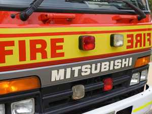 Three taken to hospital after fire at Toowoomba home