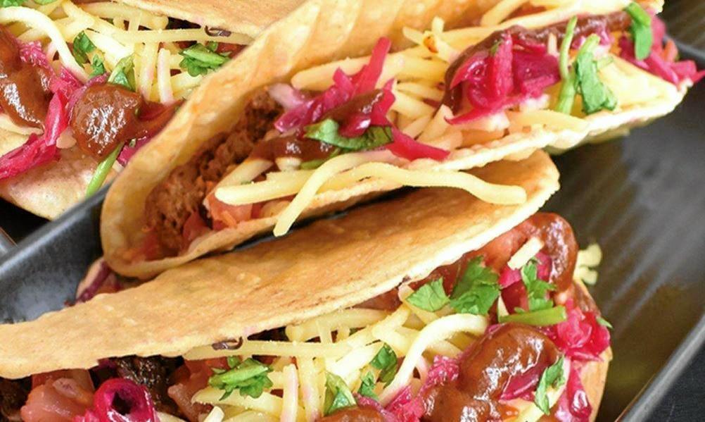 Cheap snacks in Toowoomba. The Burrito Bar's $1.95 tacos.