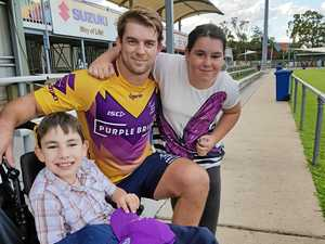 Former Gladstone Brothers junior is in the Origin mix