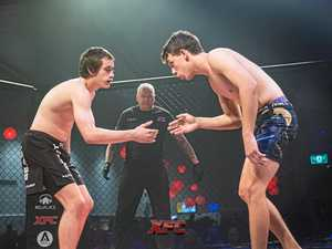 PICS: It was a fighting ring of fire at the XFC