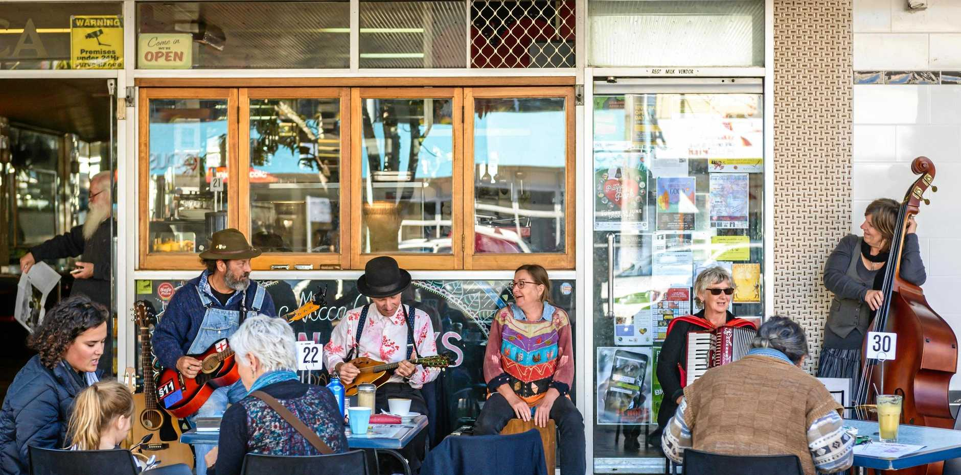 PERFORMERS ASSEMBLE: Lismore Lantern Parade organisers, LightnUp Inc, have partnered with the North Coast Institute of TAFE to create a Buskers Festival to be held in the Lismore CBD on the day of the parade (Saturday 22 June) between 10am and 2pm.