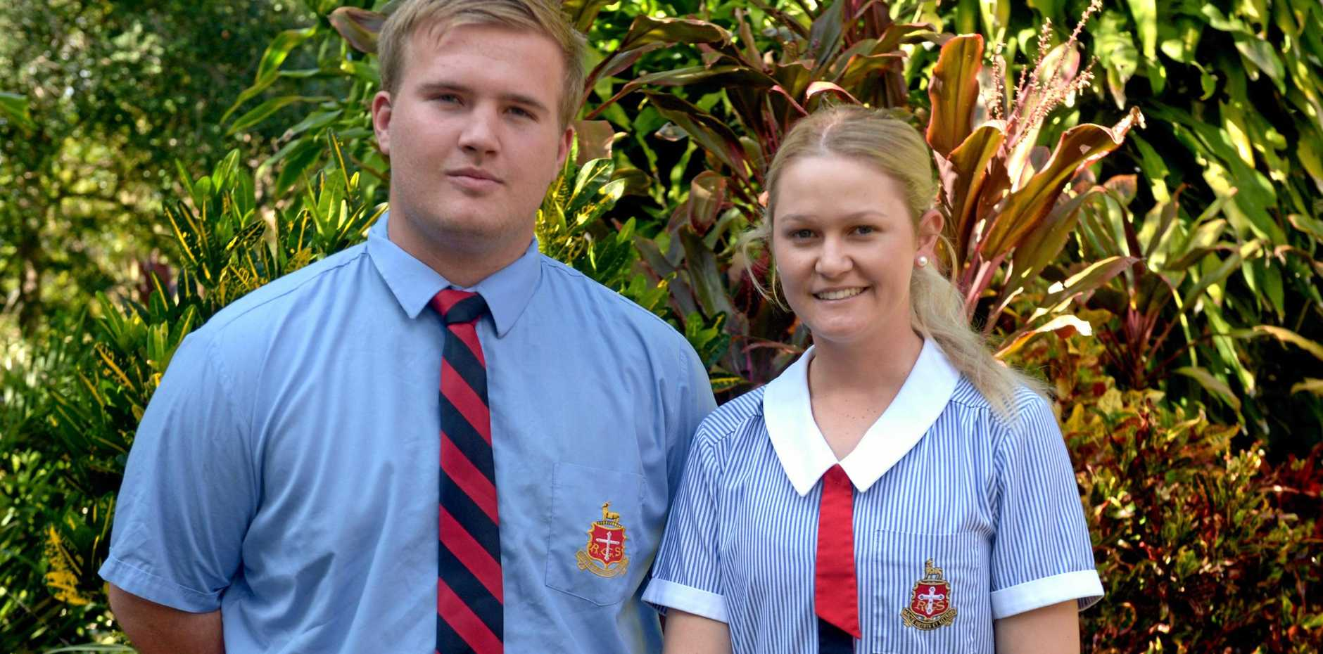 Rory Jones and Jaiden Hill, RGS boarders, are raising money for flood-afflicted farmers in western Queensland