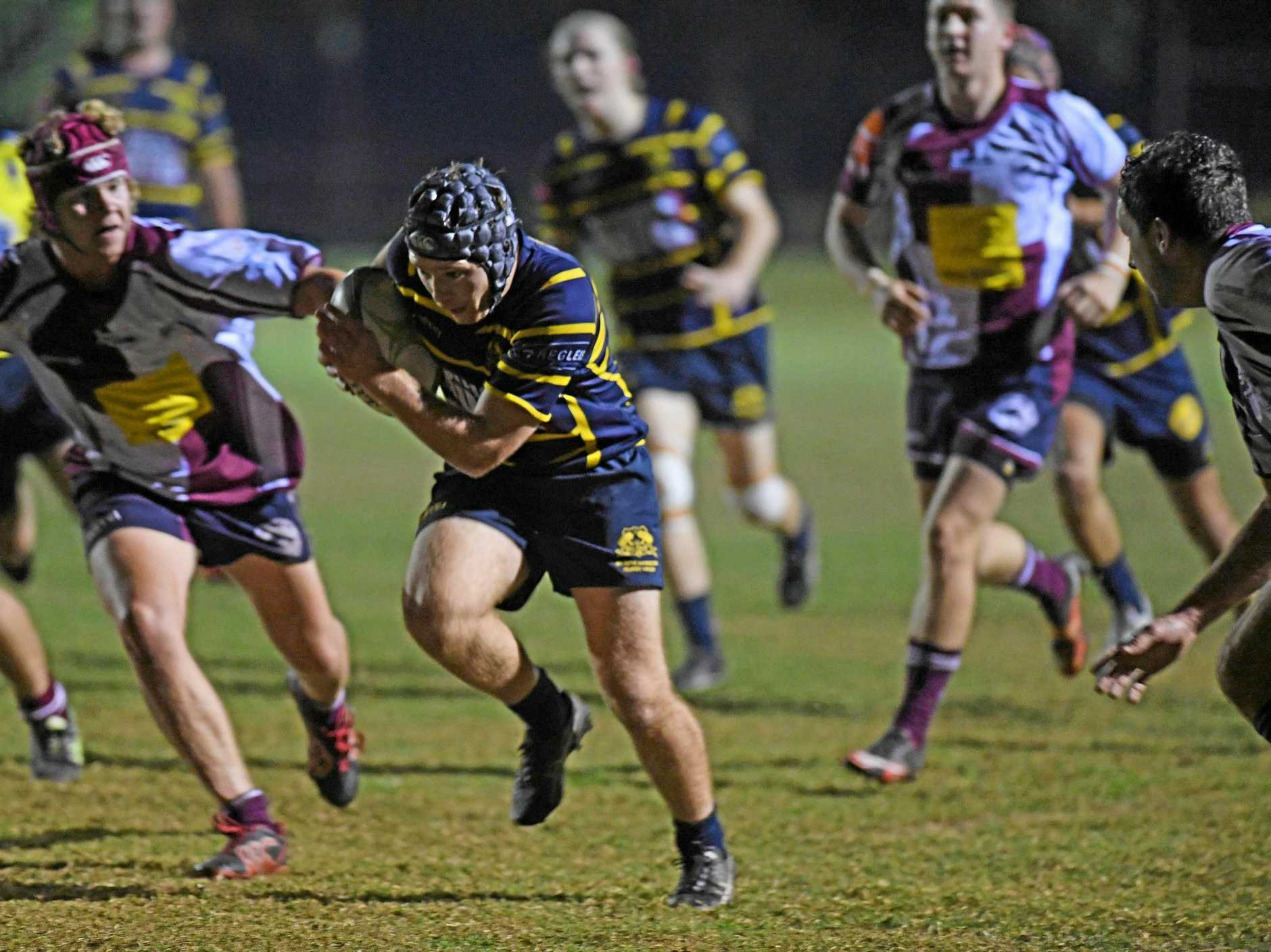 KEY MAN: Hammers' fullback Owen Dugdale was one of the stand-outs for the home side as they proved too strong for the Noosa Dolphins on Friday.