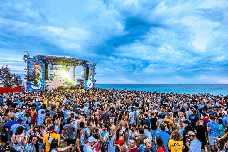 TOO MUCH? A festival attracting about 35,000 people is set to pack out Coolangatta Beach.
