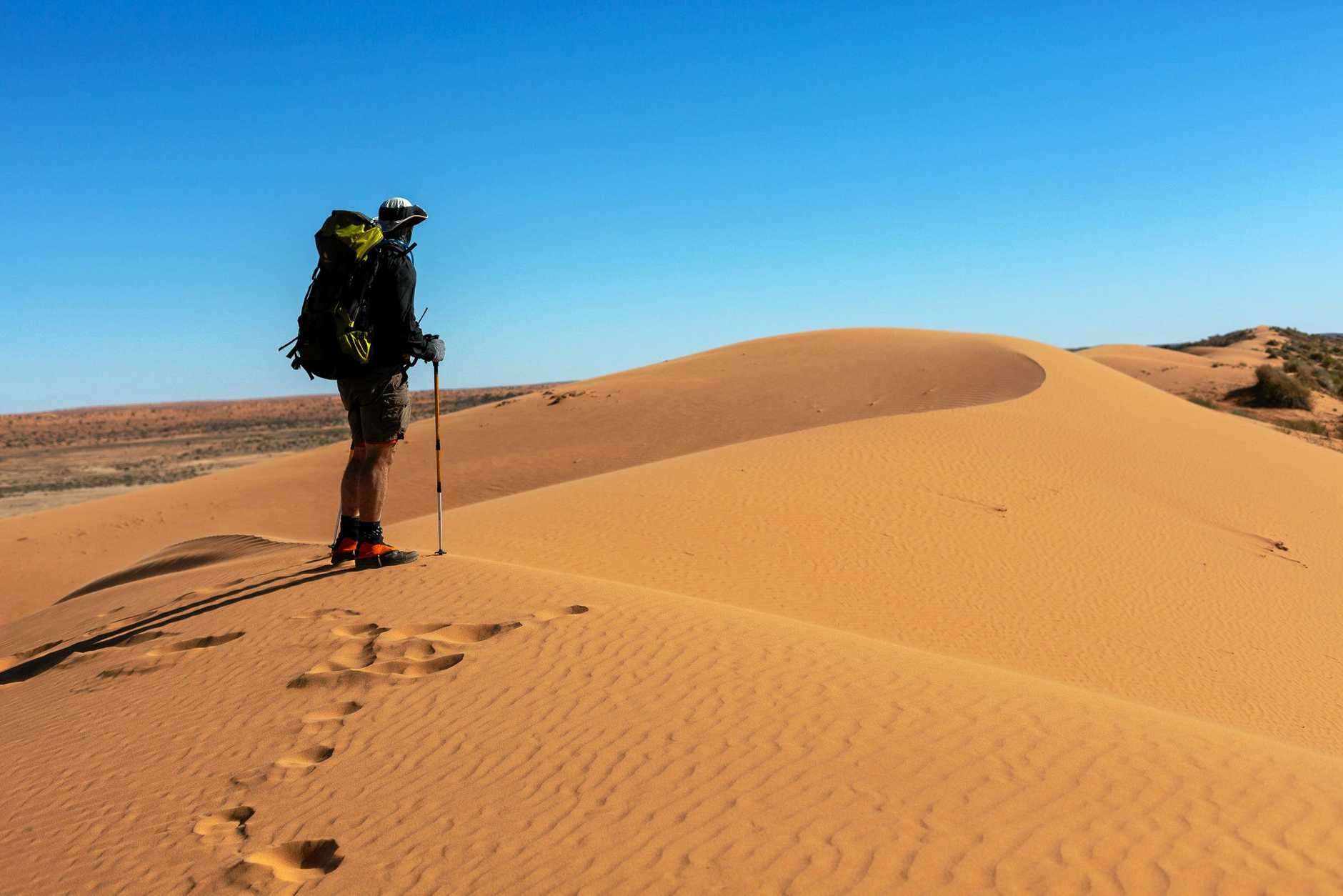 LIFE CHANGING: 14 trekkers from all over Australia participated in the Youngcare Simpson Desert Challenge.