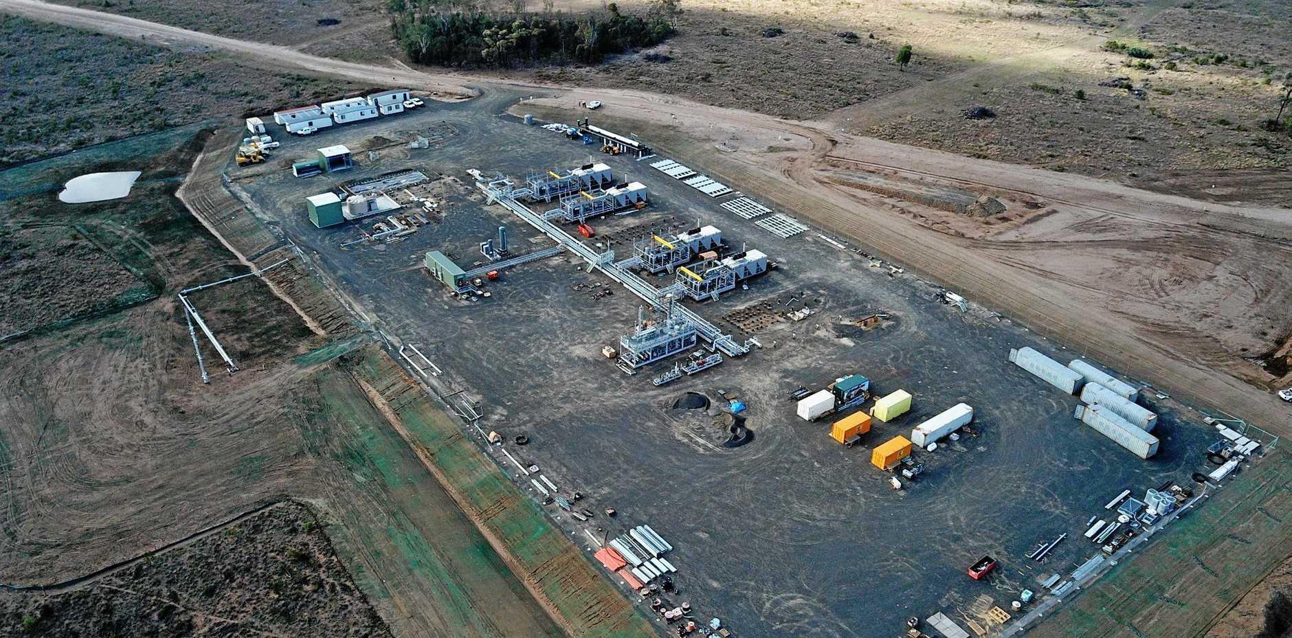 Roma North natural gas processing facility.
