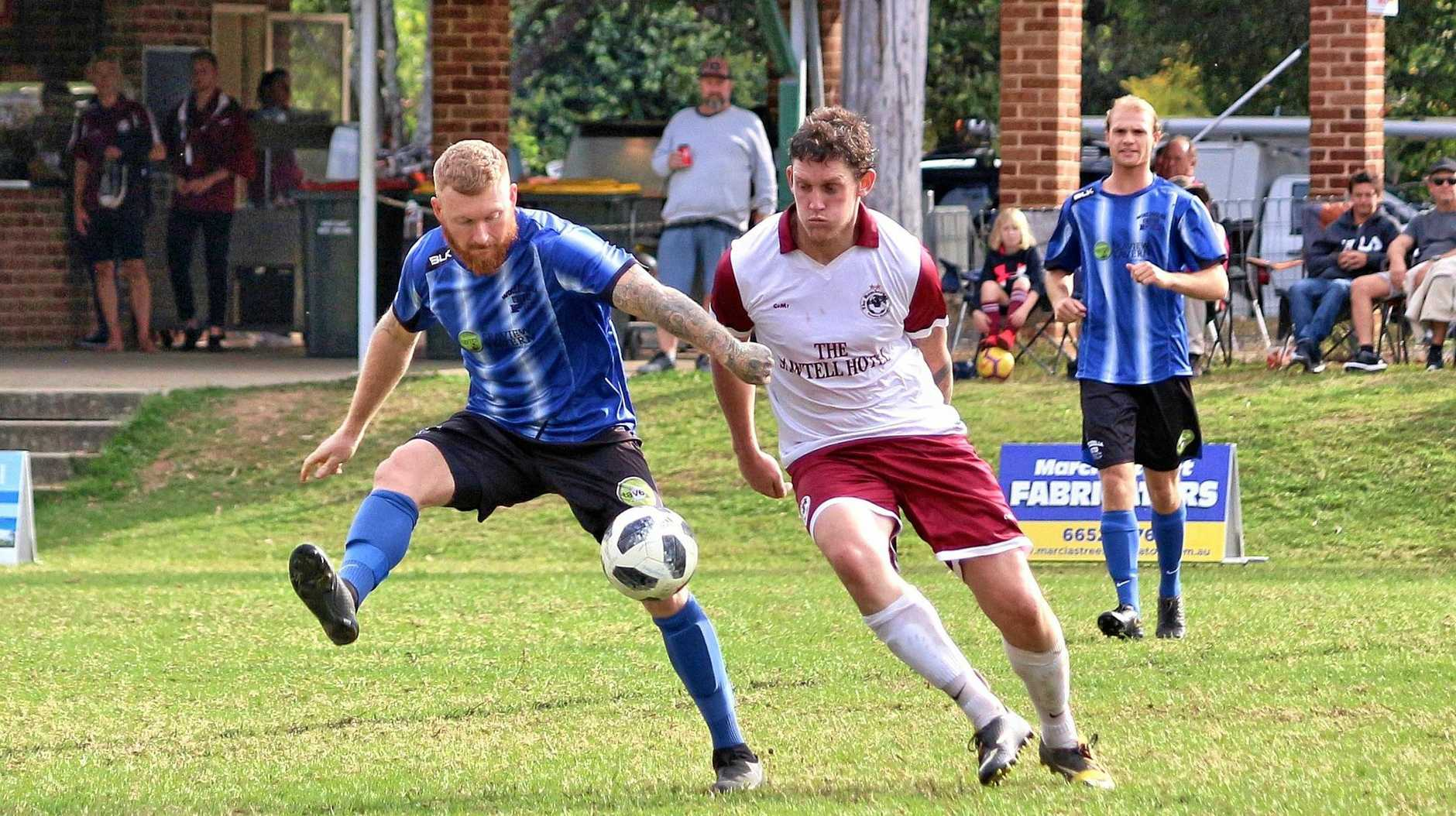 MAJOR UPSET: The Woolgoolga Wolves got over the top of the Boambee Bombers on the weekend.