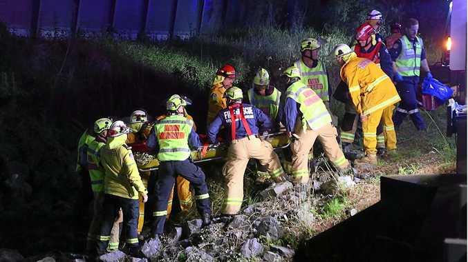 Three men injured in Mullaway crash