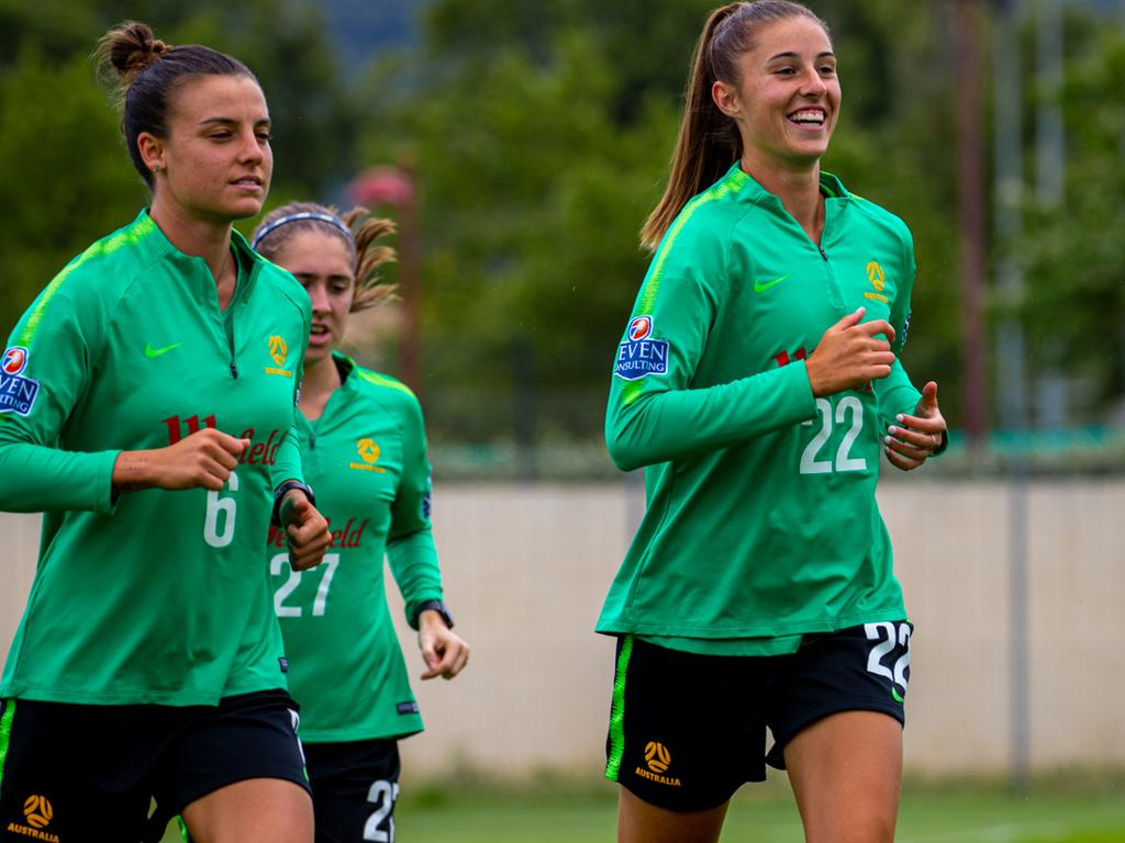 The Matildas are leaving nothing to chance against Jamaica.