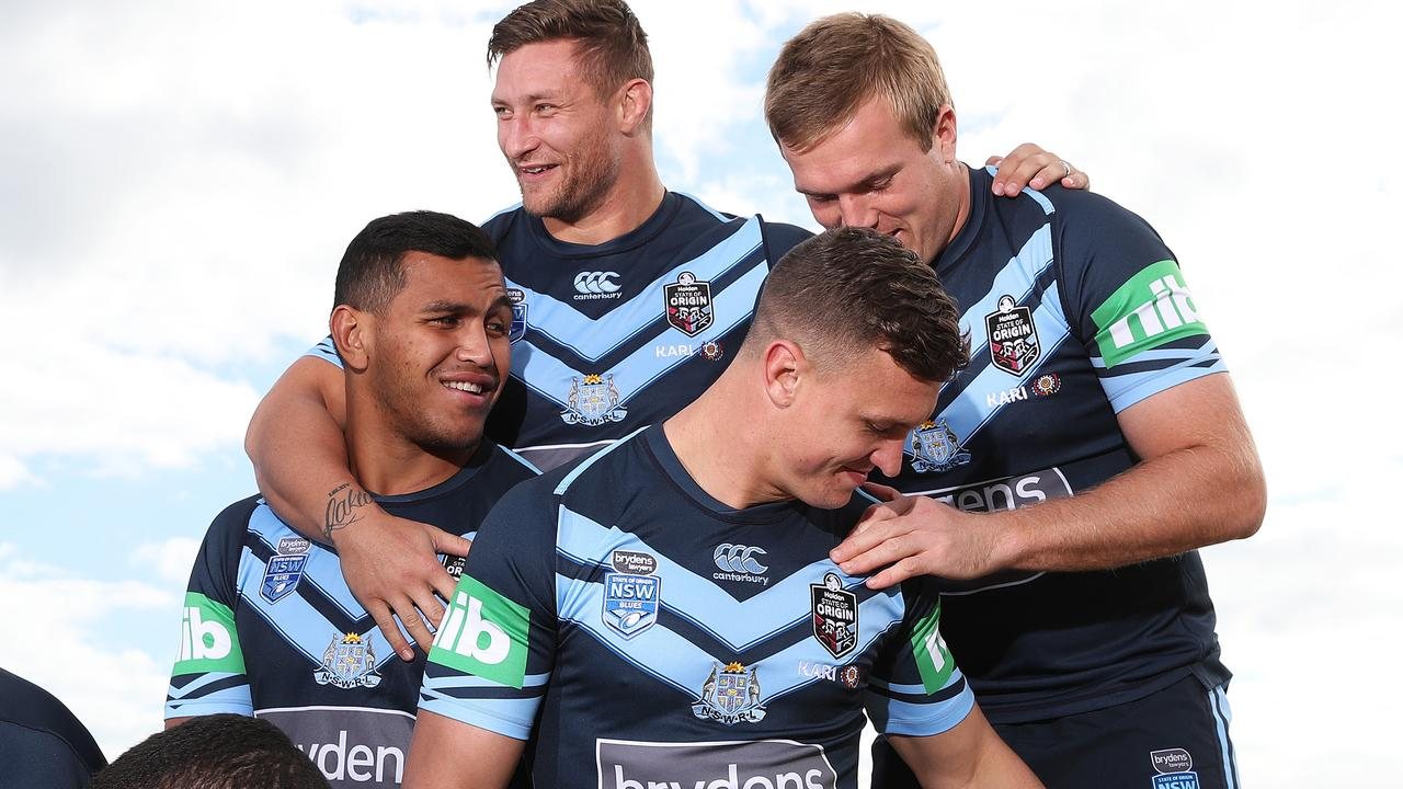 Saifiti is enjoying life in Origin camp. Image: Brett Costello