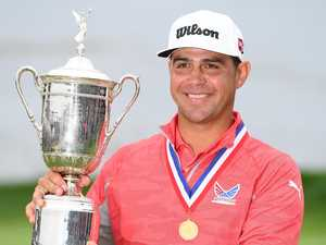 Woodland drains putt to win dramatic US Open