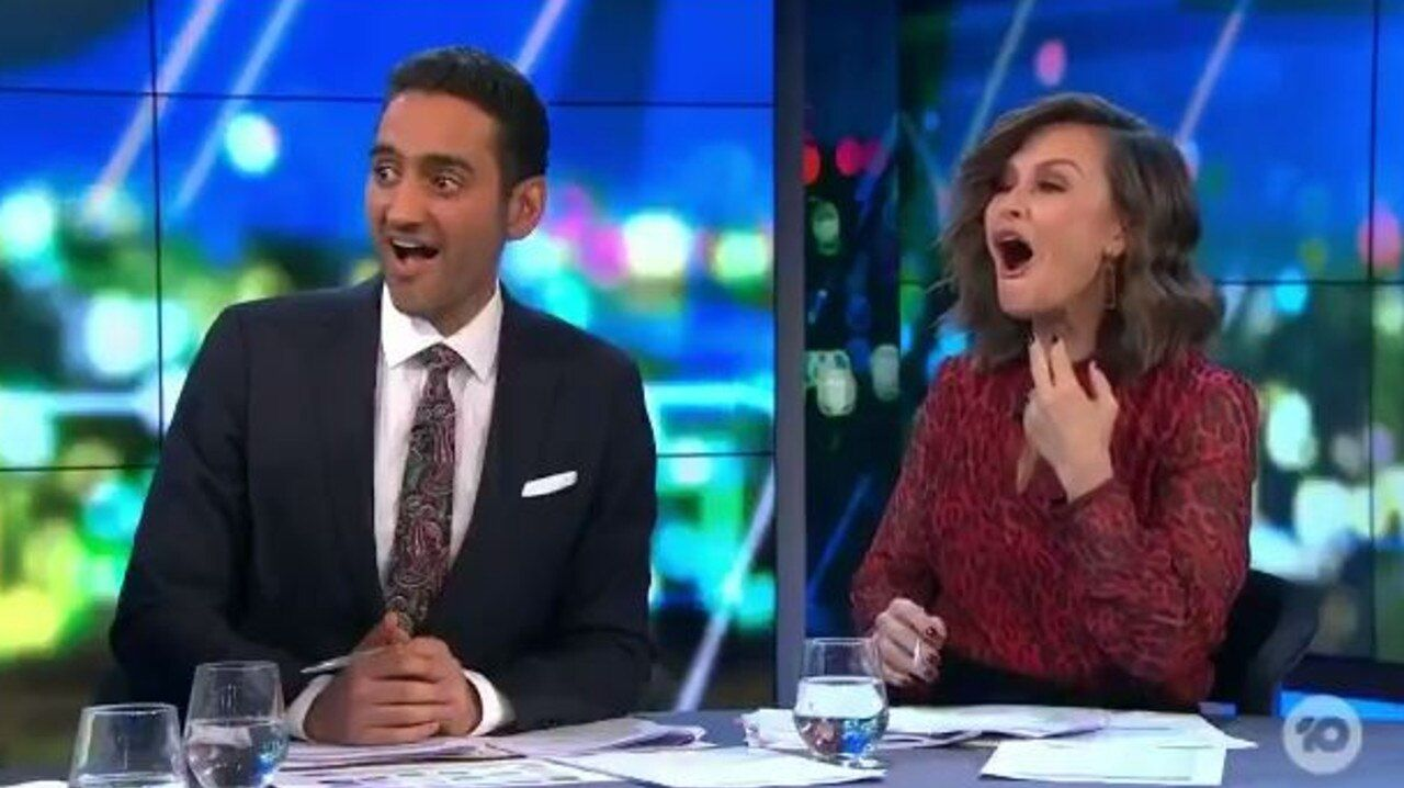 The Project hosts Waleed Aly and Lisa Wilkinson.