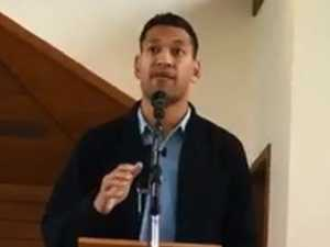 God-fearing congregation warned after Folau's sermon