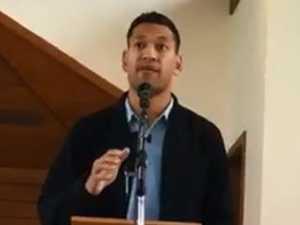 God-fearing congregation warned after Folau's sermon