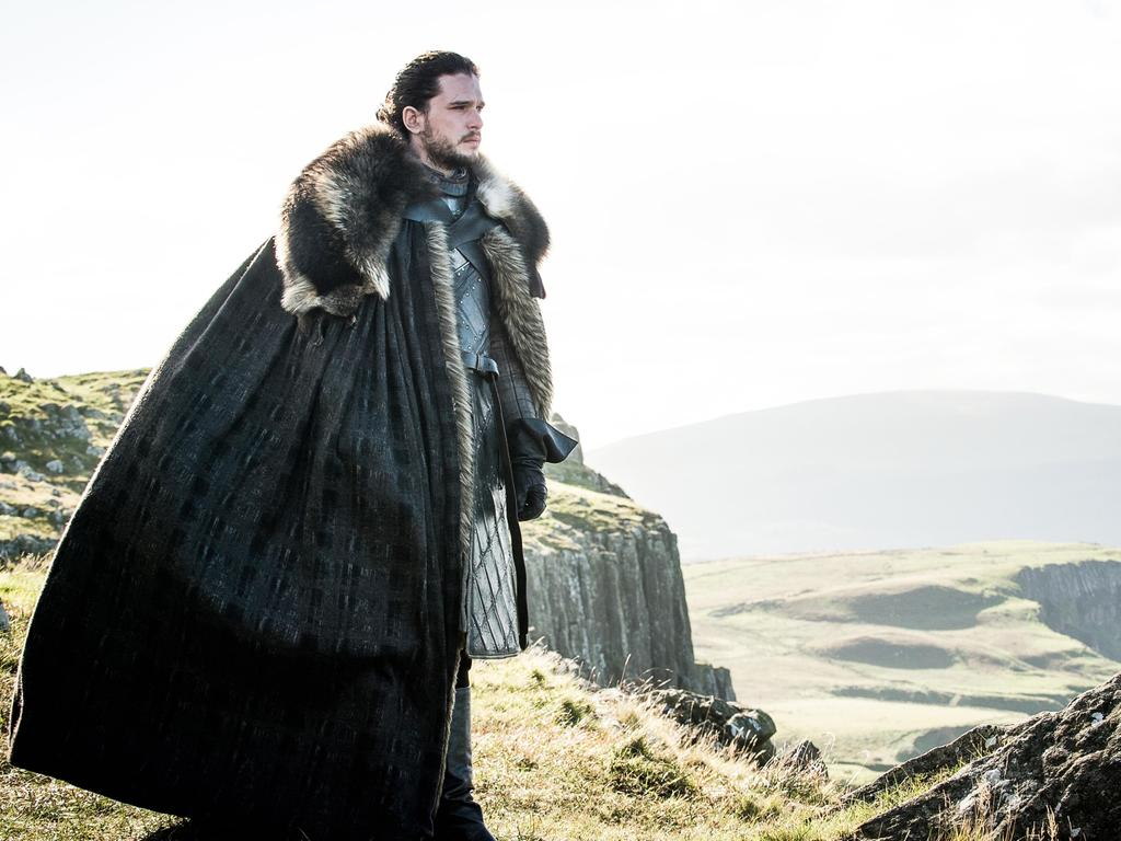 The real Kit Harrington was not apologetic about the show, and remained defiant in the face of critics. HBO