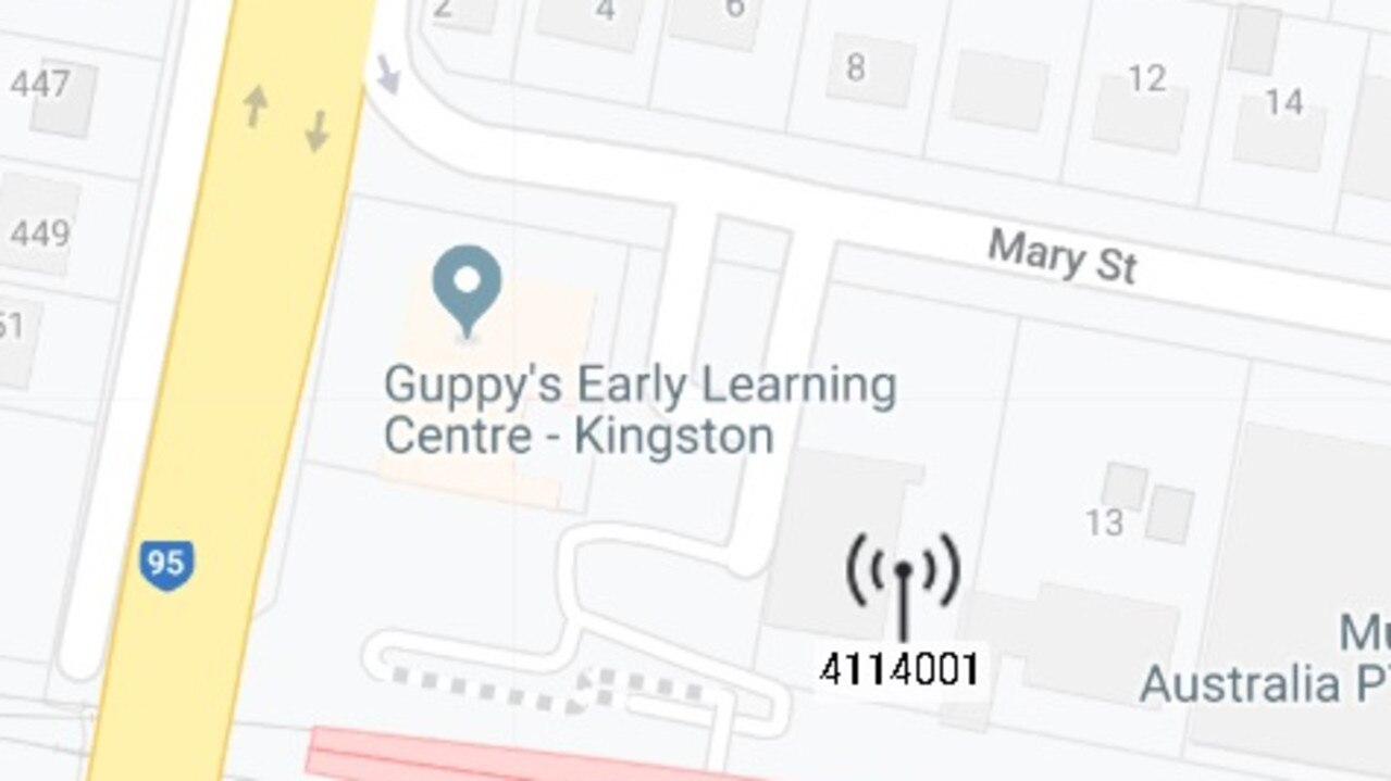A 5G location is in Mary St, Kingston.