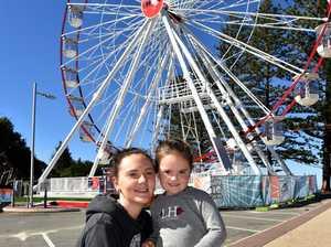 Social photos at Caloundra Ferris Wheel.Danielle