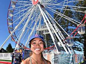 Social photos at Caloundra Ferris Wheel.Cheryl