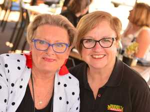 Joy Sargood and Sue Horell at The Concept in