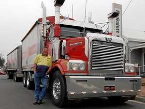 25 years later, Larry still loves trucking