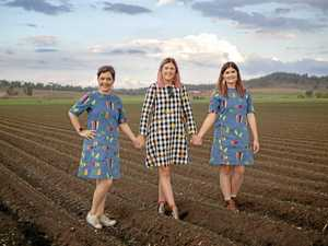 Veggies hit the runway as farmers enter fashion industry