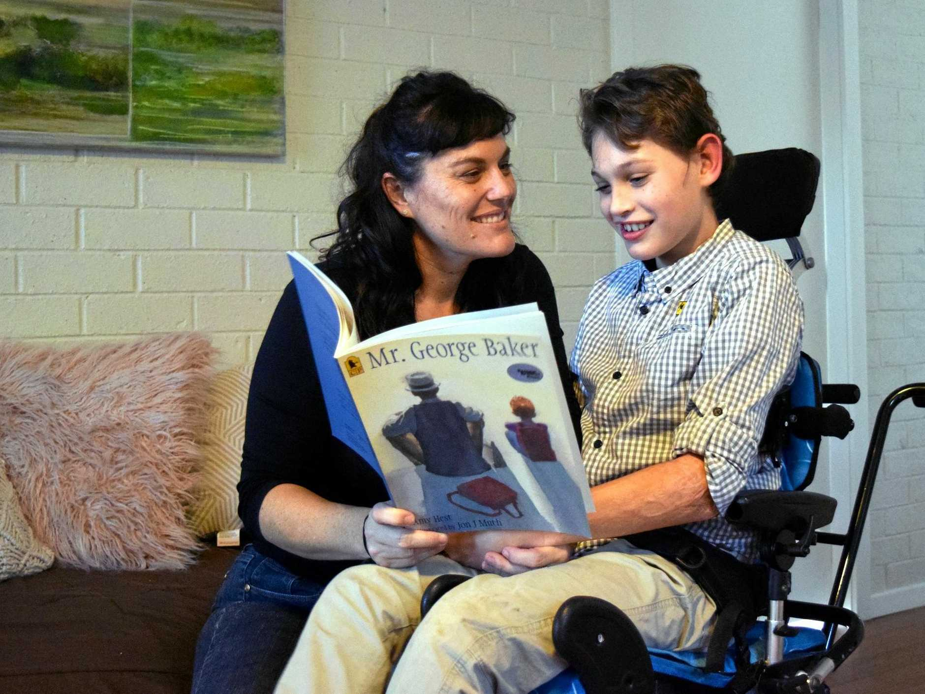 Disability worker and mother of Ashton Hayes, 12, Angela Mathew has launched a new