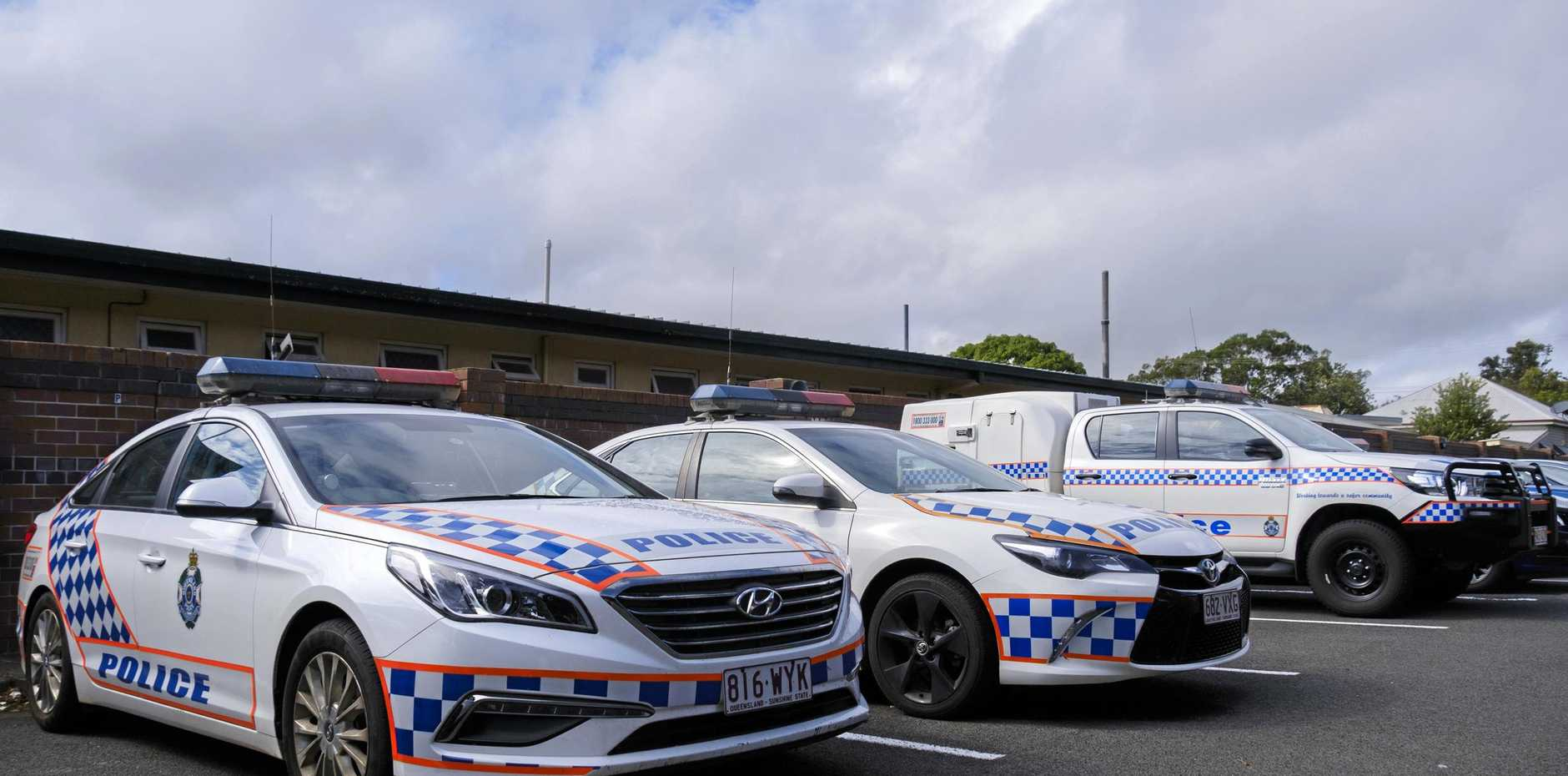 A 16 year old Goodna boy allegedly threw a rock at a home on Barber Street in Cherbourg.