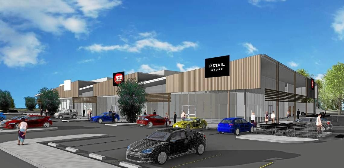 A quiet Sunshine Coast suburb could be transformed with a development application lodged for a new shopping precinct, including a supermarket, indoor sports centre and food and drink outlet.