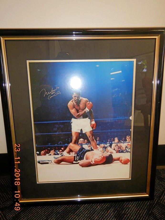 Muhammad Ali picture.