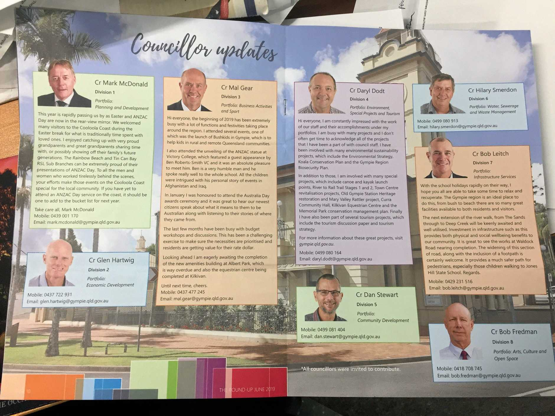 Photo of Gympie Regional Council The Round-up June 2019.