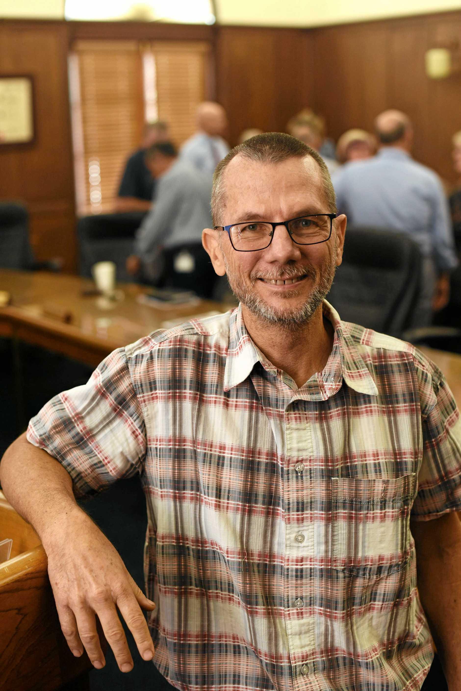 Gympie councilor Dan Stewart.