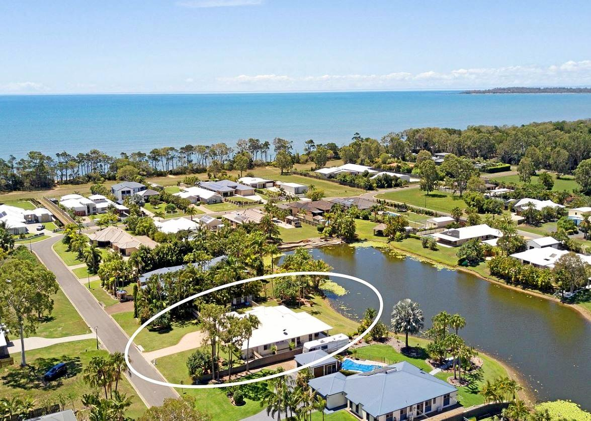 20 Eagle Beach Parade, Dundowran Beach became the highest reported sale on the Fraser Coast last week when it went for $735,000.