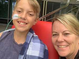 Crippling illness takes teen from footy field to coma