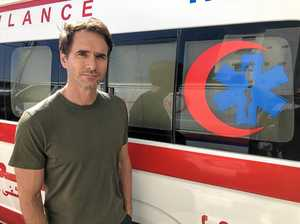 Todd Sampson's Gaza Strip experience a reminder of mortality