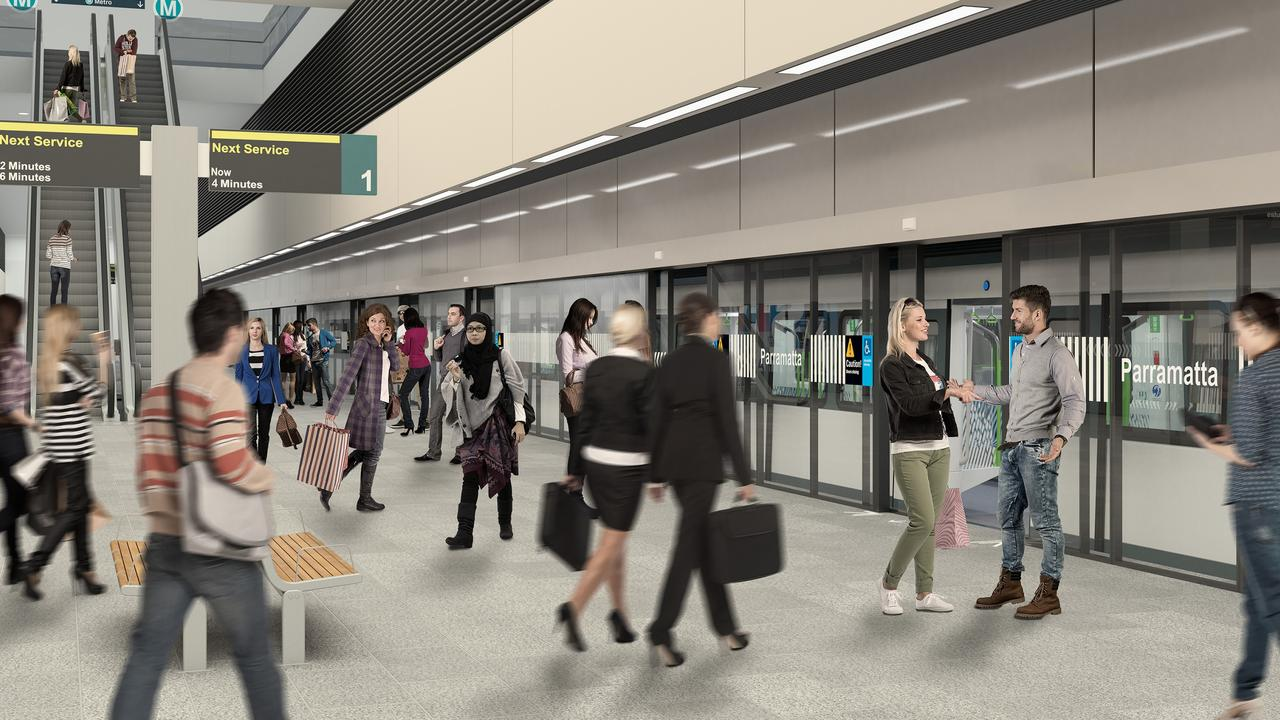 Western Sydney Airport metro rail line: A fast metro rail service will link the new Western Sydney Airport with the rest of the city.