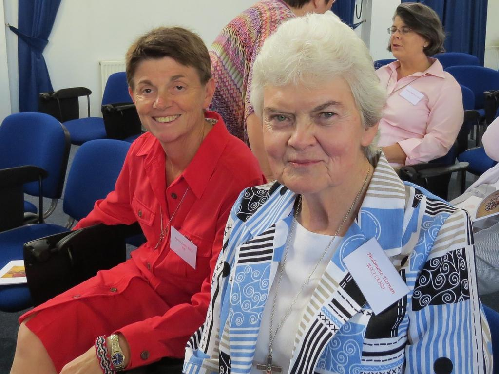 One of the last photos taken of Sister Philomene Tiernan at the Sacred Heart Spirituality Conference in the UK, before MH17 was shot down over Ukraine.
