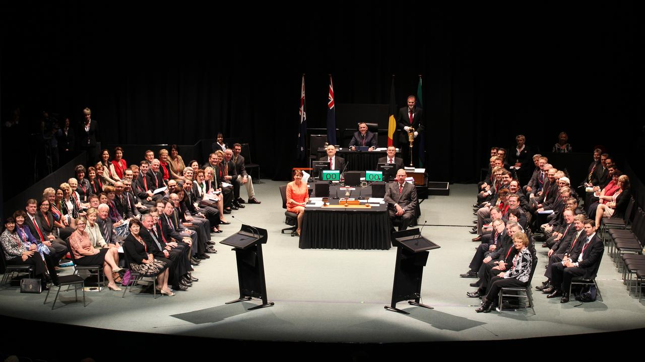 Regional parliament was most recently held in Mackay in 2011.