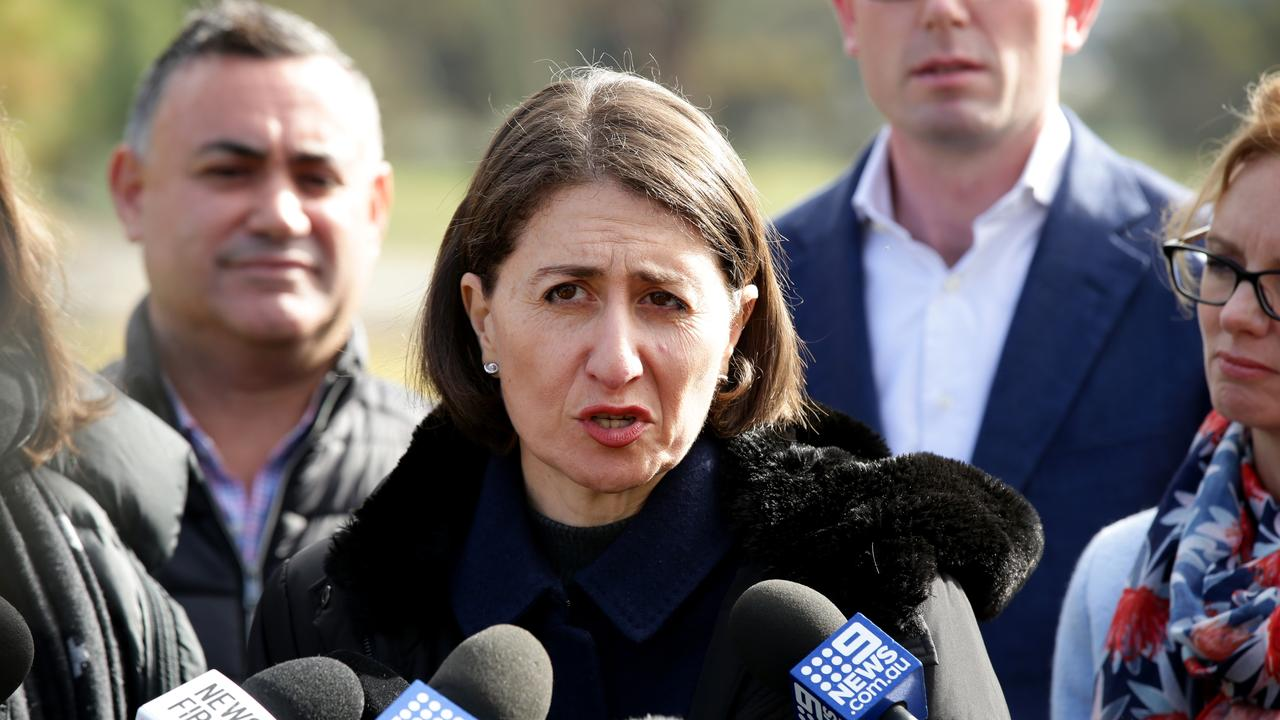 Today's budget is almost exclusively funding promises made by Premier Gladys Berejiklian in March's fierce election campaign.
