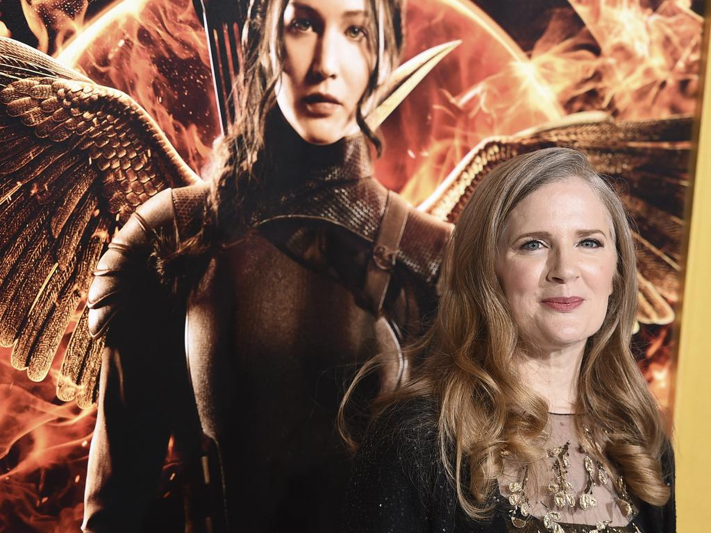 Suzanne Collins is writing a prequel set 64 years before the beginning of her multi-million-selling trilogy, scheduled for release on May 19, 2020. Picture: Jordan Strauss/Invision/AP