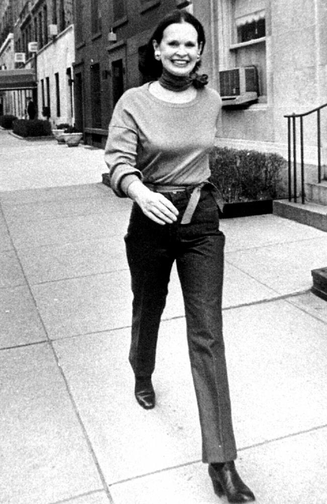 Gloria Vanderbilt was a New York icon. Picture: Supplied