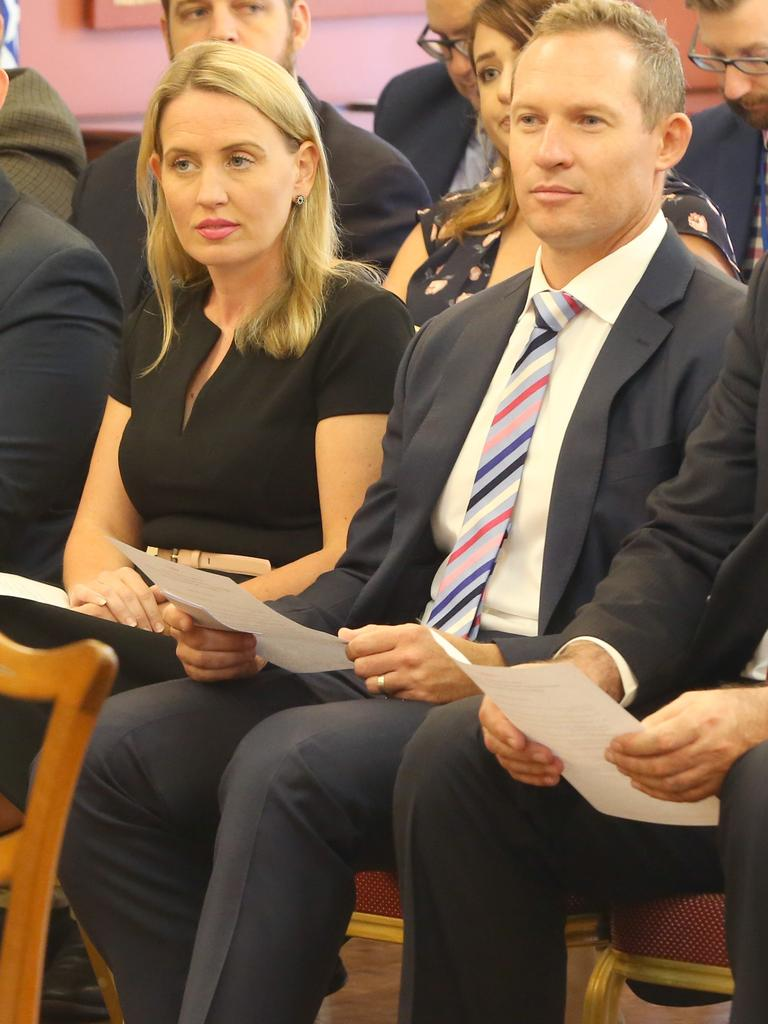 The Courier-Mail understands Queensland Tourism Minister Kate Jones and Sport Minister Mick de Brenni met with Suncorp Stadium executives to formulate a plan to bring the game north of the border. Picture: Jono Searle