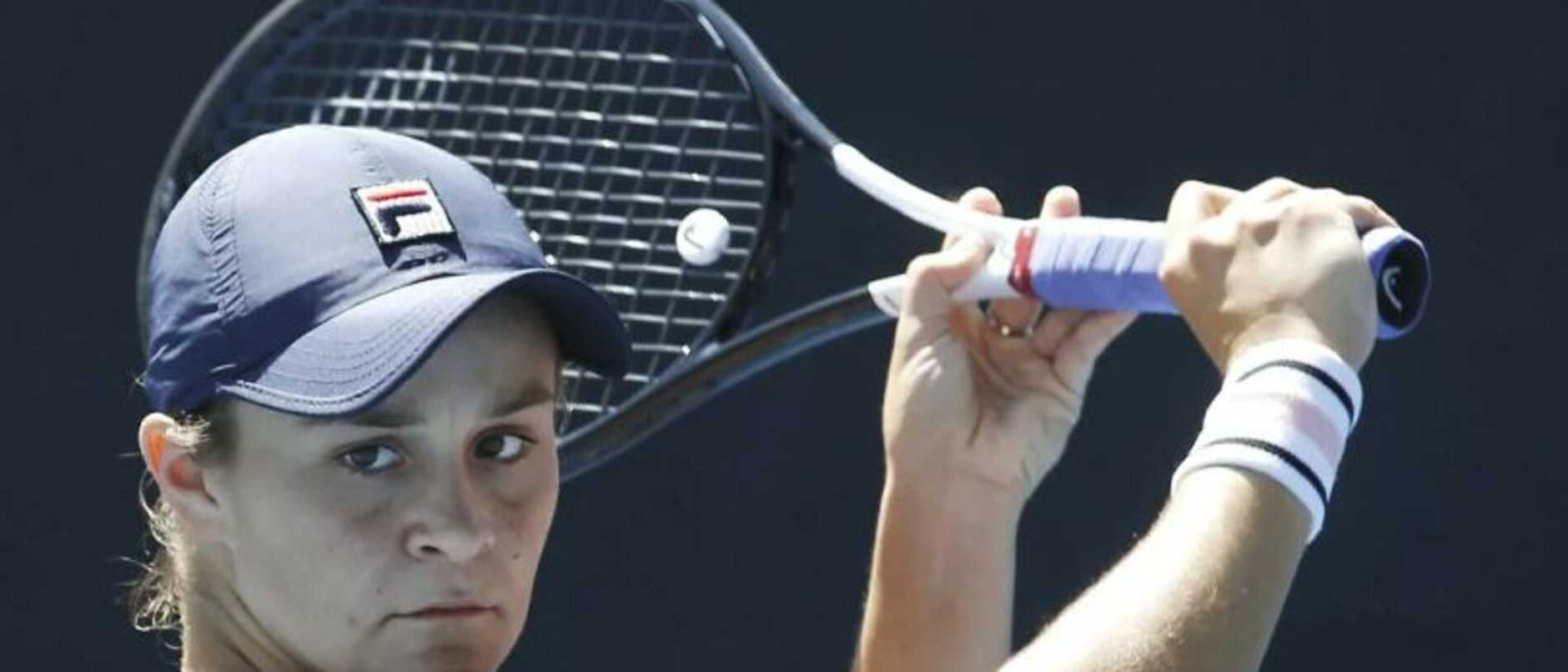 Ashleigh Barty has a big fan in Martina Navratilova.